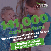 Communities face a £10 billion shortfall in funding for local services.